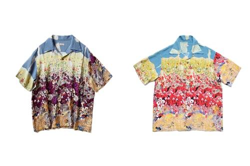 "KAPITAL Gets Painterly With ""Navaholland"" Hawaiian Shirts"