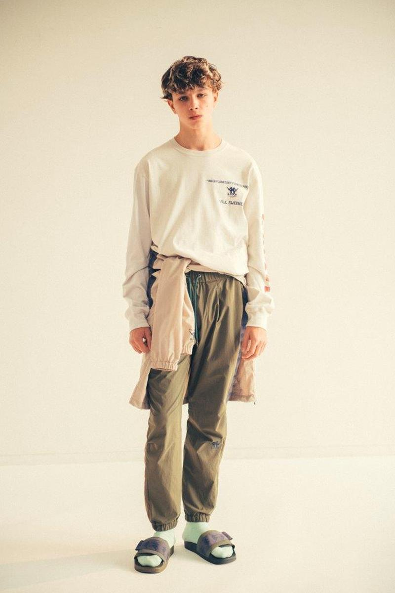 A FOUR LABS Will Sweeny Kappa Japan Spring Summer 2020 Capsule collection menswear streetwear spring summer 2020 lookbook kazuki kuraishi sportswear