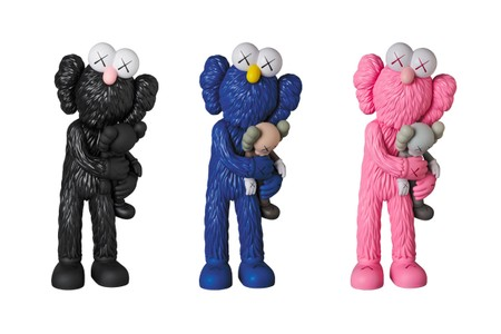 Medicom Toy Plus Is Restocking Every Color of the KAWS 'TAKE' Companion Figures