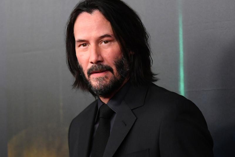 Keanu Reeves Zoom Call Auction Charity The Matrix Bill & Ted