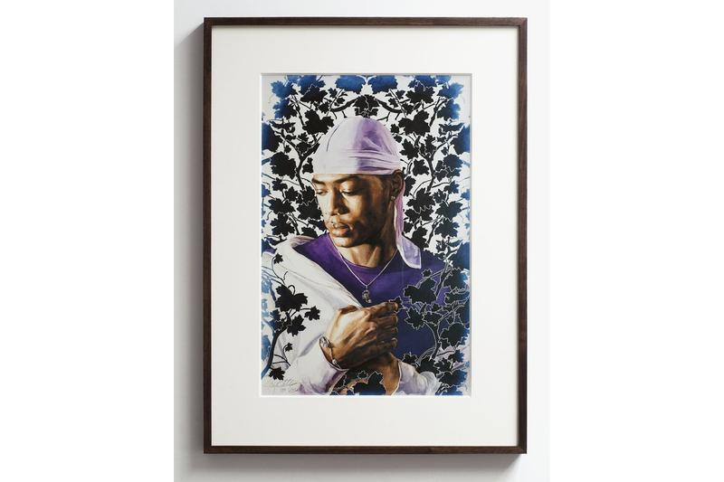 kehinde wiley artspace editions lithographs prints
