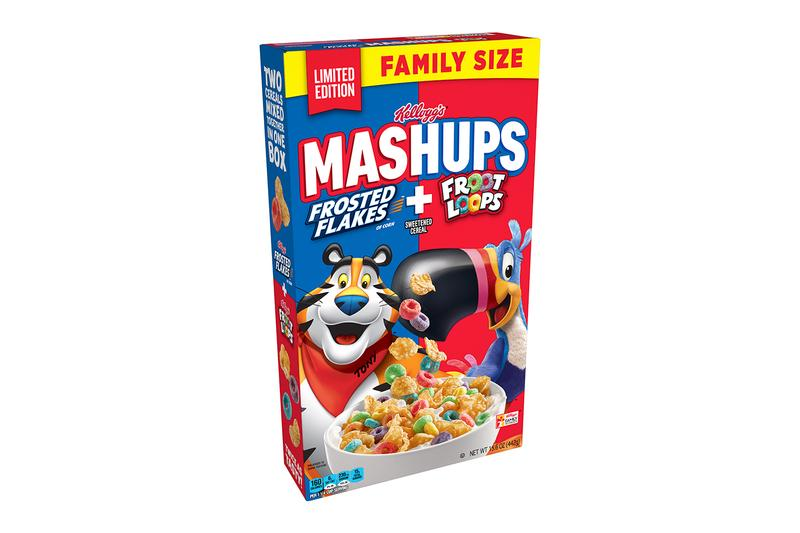 Kellogg's Frosted Flakes Froot Loops Mashups Cereal Release Info Buy Price
