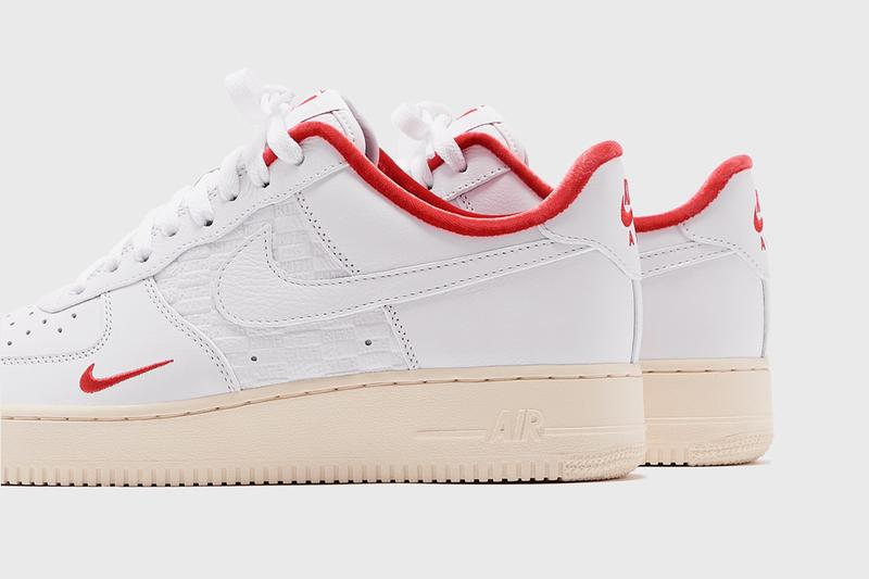 kith nike sportswear air force 1 low tokyo ronnie fieg white sail red cz7926 100 exclusive shibuya flagship official release raffle date info photos price store list buying guide