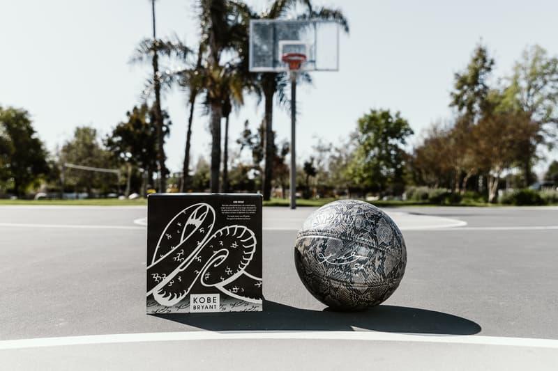Kobe Bryant Spalding Basketball Silver Snakeskin 94 Series Mamba mentality Release Info nba