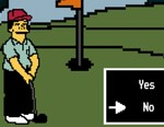Play 'Lee Carvallo's Putting Challenge' From 'The Simpsons'