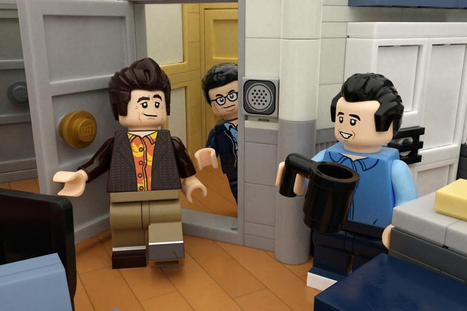 LEGO IDEAS 'Seinfeld' 30th Anniversary Set Jerry Seinfeld LEGO George Costanza Elaine Benes Cosmo Kramer New York Toys