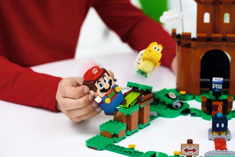 LEGO Super Mario Bros. Character Packs Expansion Sets Mario Starter Course Bowser Boomer Bill