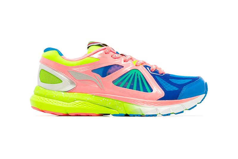 Li Ning Fusion Rider Ace candy colorway pink blue green sneakers footwear shoes menswear streetwear spring summer 2020 collection lineup