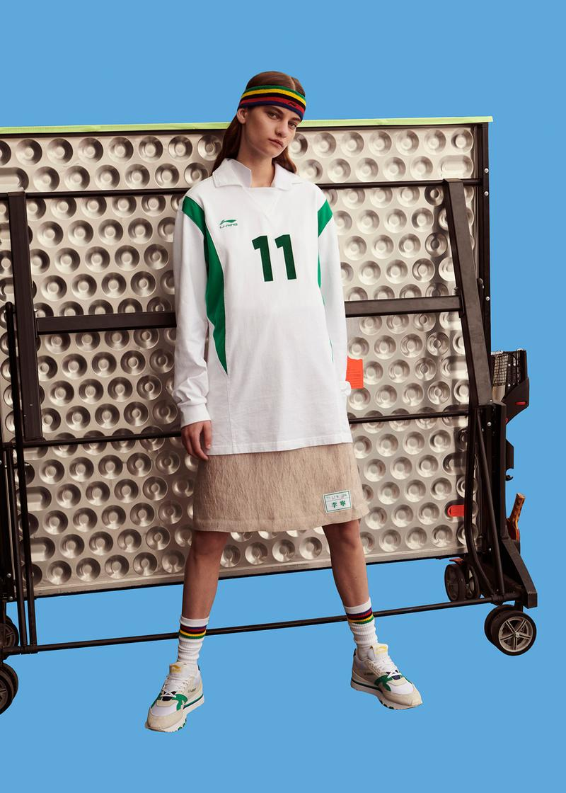 """LI-NING Spring/Summer 2020 """"On Ping Pong"""" Lookbook collection ss20 china release date buy stockists store"""