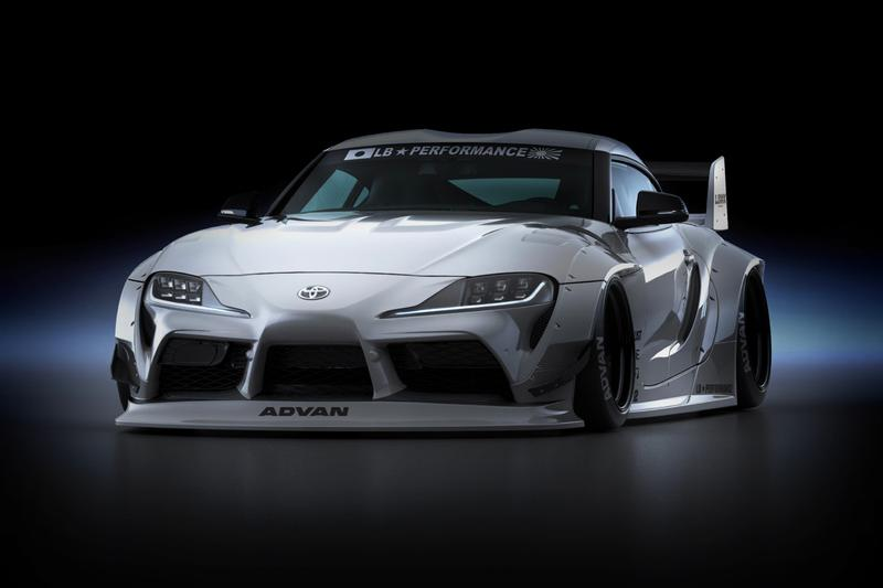 Liberty Walk A90 2020 Toyota MkV Supra Complete Body Kit Release Info Black White Buy Price