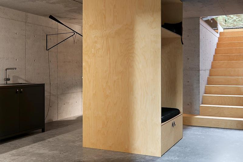 """Line Design Studio """"Pine House"""" Concept Design baltic sea russia"""
