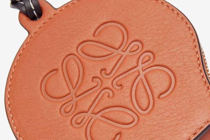 LOEWE Paula's Ibiza Seashell Leather Necklace Bag Release MATCHESFASHION info Buy Price Orange Brown