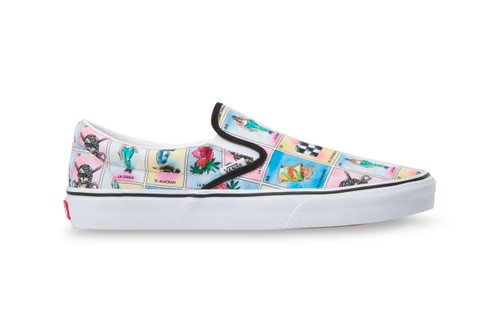 The Los Vans Slip-On and Old Skool Honors the Traditional Lotería Card Game