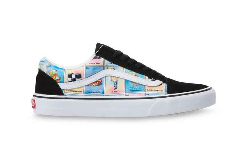 Los Vans Slip On Old Skool Loteria Release Info mexican card game spanish