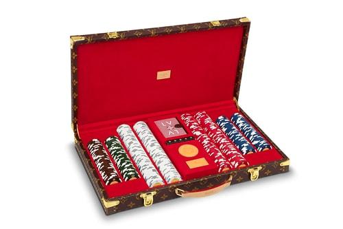Louis Vuitton Releases a Luxurious Monogram Poker Case
