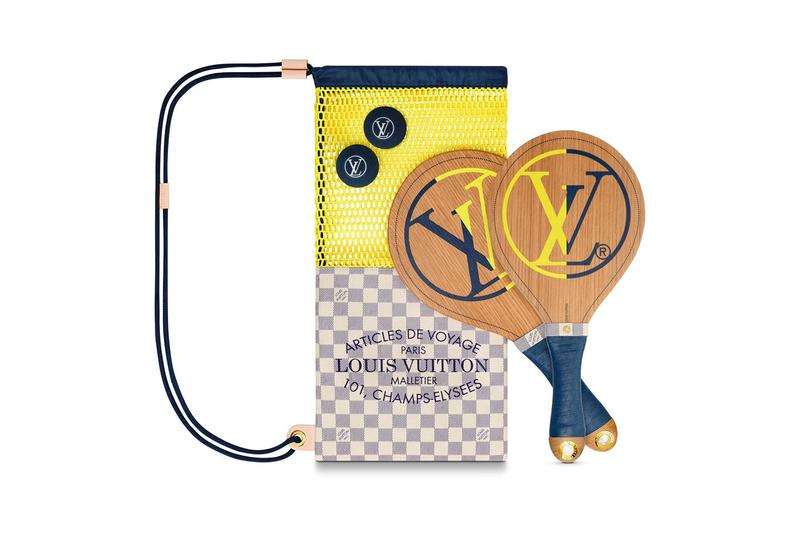Louis Vuitton Beach Bat Paddle Set summer ocean sport activities