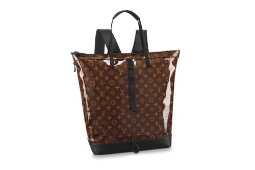 Louis Vuitton's Zipped Tote Is Crafted of High-Gloss Monogram Glaze