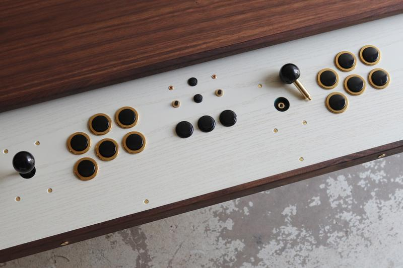 Love Hulten Coffee Table Built In Arcade Sticks Hypebeast