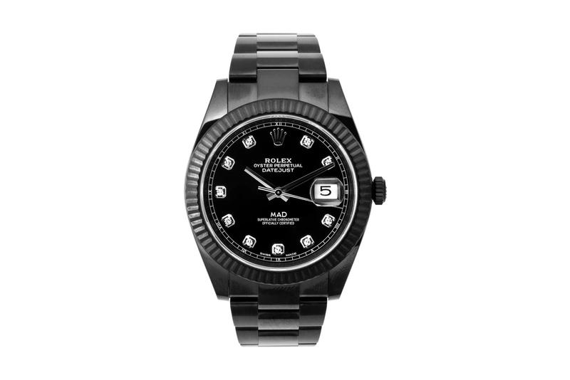 MAD Paris DLC Diamond Rolex Datejust watches features movements swiss watches diamonds accessories