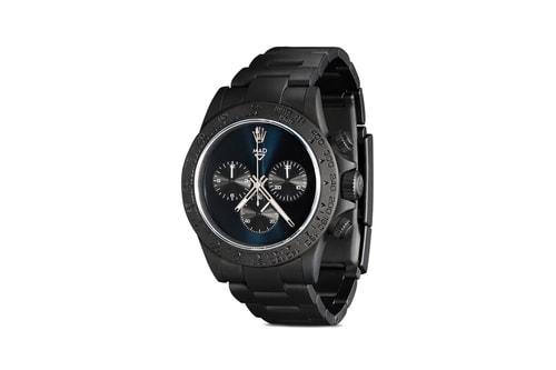 MAD Paris Delivers Matte Black, Sapphire Crystal-Equipped Rolex Daytona 45mm