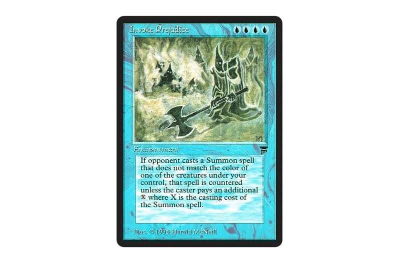 Magic: The Gathering Racist Card Ban Announcement Info BlackLivesMatter Invoke Prejudice Cleanse Stone-Throwing Devils Pradesh Gypsies Jihad Imprison Crusade