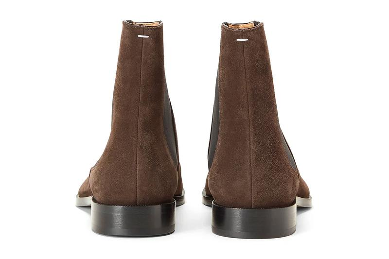 Maison Margiela Tabi Chelsea Boots Brown Release Info Buy Price LN-CC