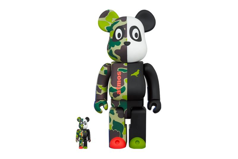 atmos STAPLE Medicom Toy BEARBRICK 100 400 streetwear jeff staple new york city spring summer 2020 collection toys figures collectibles