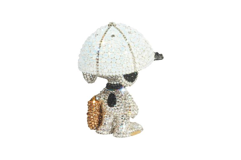 LIGHTS STYLE x Medicom Toy Swarovski Peanuts Snoopy Release collectibles peanuts snoopy charles schulz Japan figures