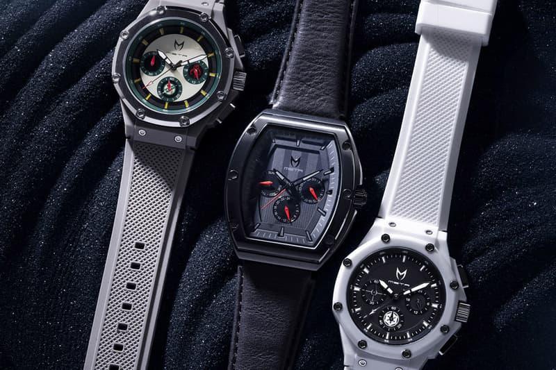 Meister 'The Empire Strikes Back' Watch Collection Dark Side 40th Anniversary Darth Vader Stormtrooper Boba Fett Black White Gray Major Ambassador X Timepiece