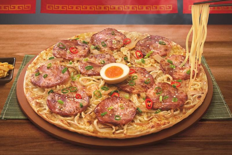 Menya Musashi Pizza Hut Ramen Pizza Release Info Taiwan Where Order Try Review