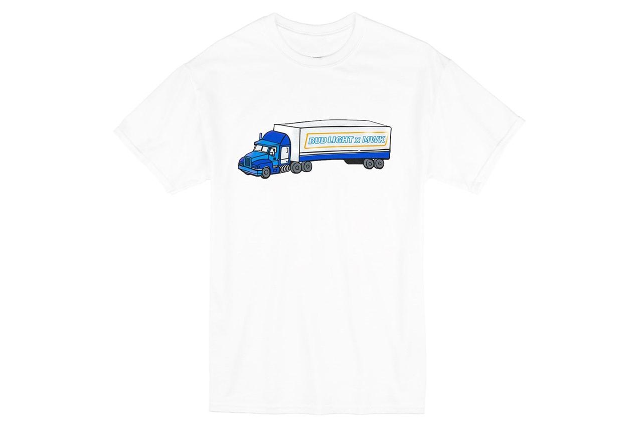 Bud Light x Midwest Kids MIDWESTBREWED Collaboration tee shirt capsule darryl brown
