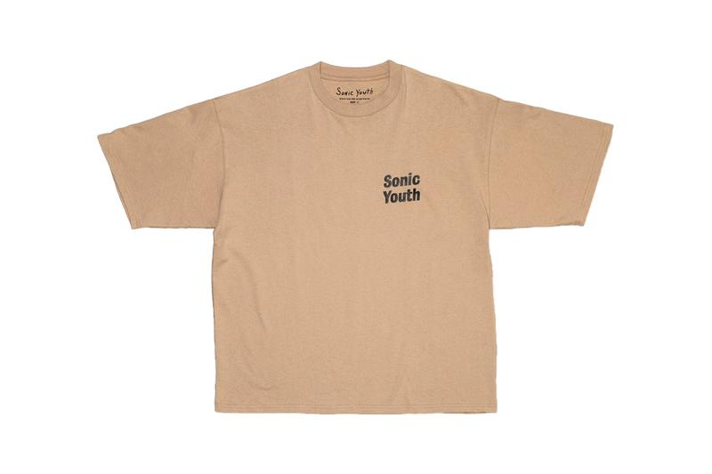 Sonic Youth monkey time T Shirt Capsule menswear streetwear spring summer 2020 collection graphic tee album rock band united arrows and sons beauty and youth