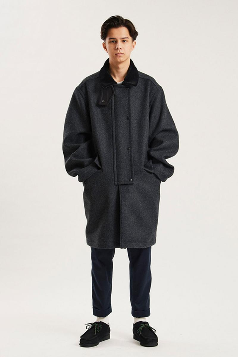 nanamica Fall Winter 2020 Lookbook collection menswear streetwear coats jackets t shirts parkas sweaters shirts liners pants corduroy trench peacoat fleece