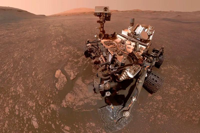 NASA Mars With AI4Mars Rover label curiosity online web browser Red Planet Martian earth science space exploration mission