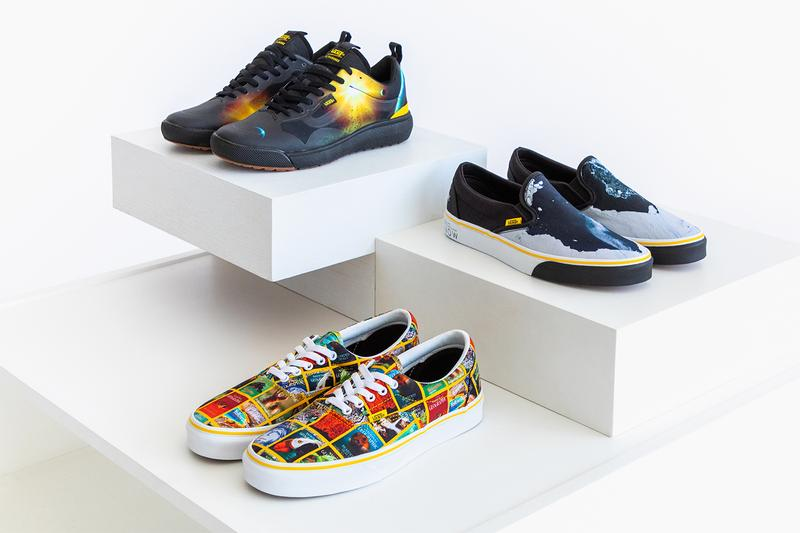 National Geographic Vans UltraRange EXO Era Classic Slip-On Closer Look collection sneakers shoes