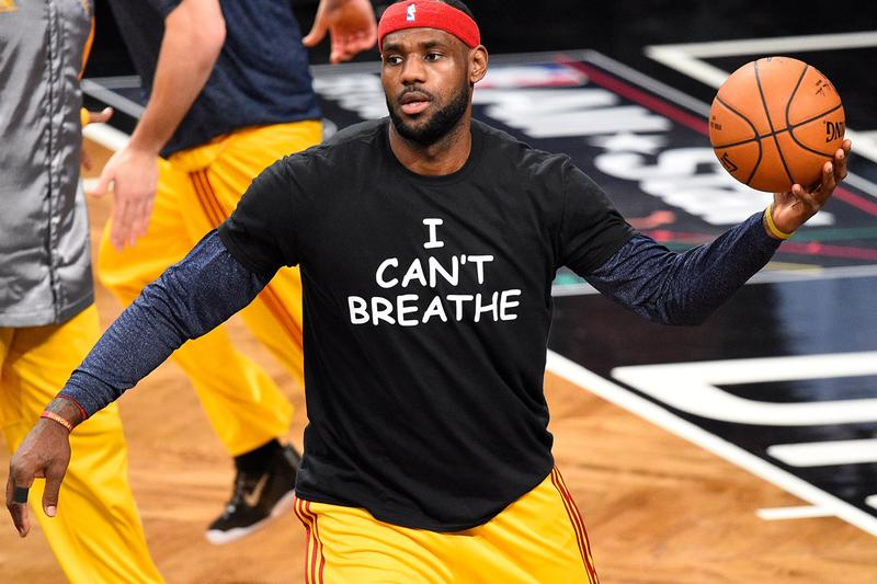 nba 2k20 i cant breathe black lives matter in game avatar t shirts hoodies myplayer george floyd eric garner lebron james say their names tees