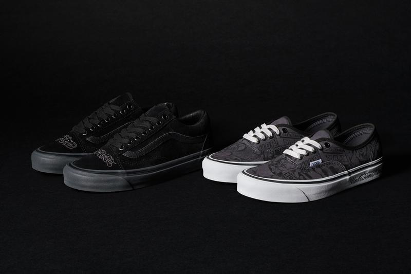 NBHD x Vans Mr. Cartoon Authentic and Old Skool Release West Coast Graffiti Collaboration california vibes Uncle Toon's Mart