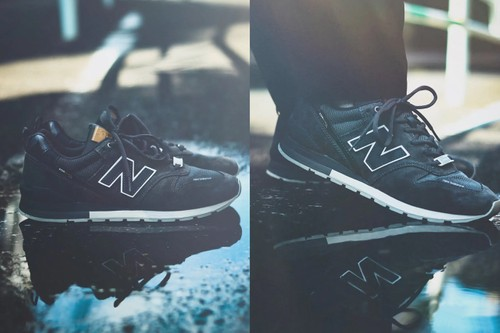 This New Balance 996 Combines Soft Suede With CORDURA's Rugged Nylon