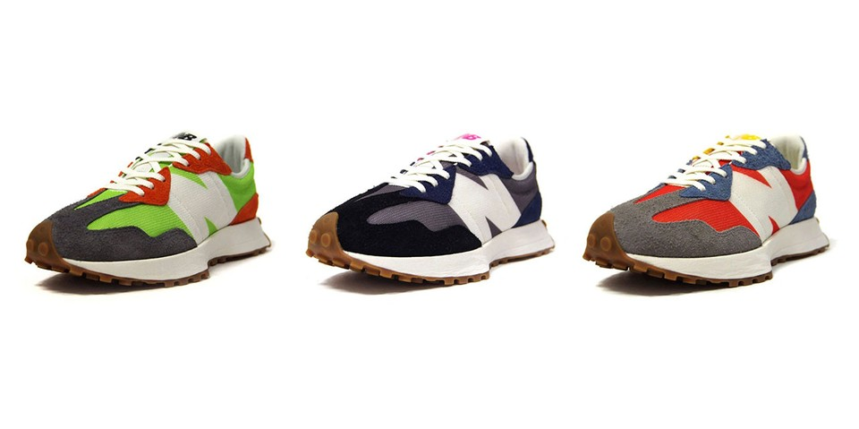 New Balance Delivers Three More Retro 327 Sneaker Colorways