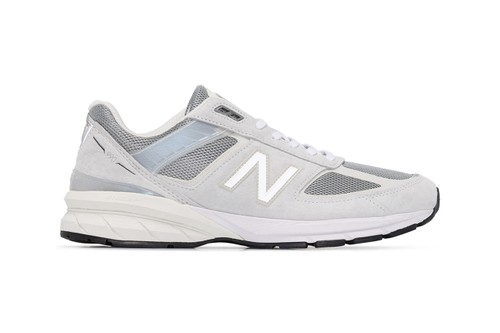 New Balance Releases Slick Grey M990 Sneakers With Reflective Detailing