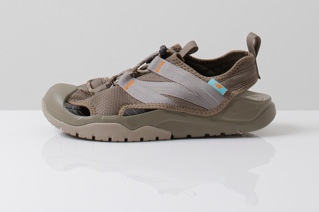 New Balance Korea CRV-COVE SD4205 shoe Sneaker Sandal exclusive release date colorway buy khaki grey black