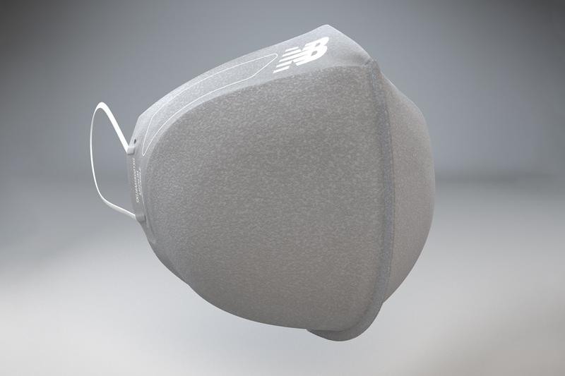 New Balance General Public Face Mask V3 Release Gray Machine Washable Non-Sterile