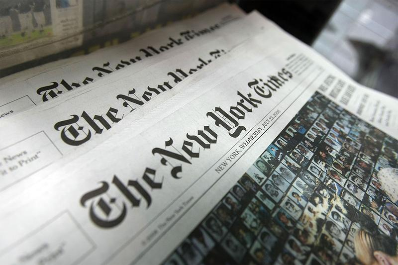 the new york times newspaper news media removes pulls out withdraws apple news