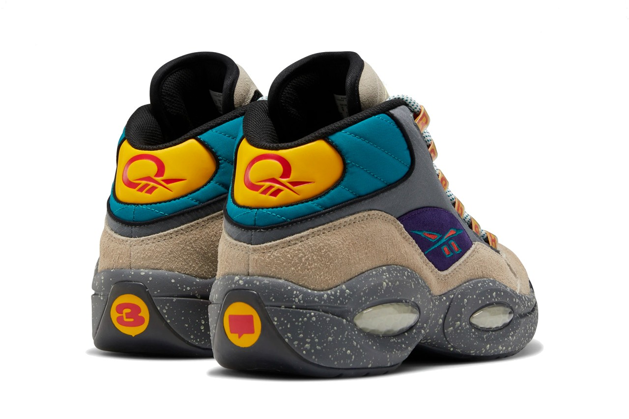 nice kicks reebok question mid bubba chuck allen iverson stucco black seaport teal orange purple grey yellow FW1784 official release date info photos price store list buying guide