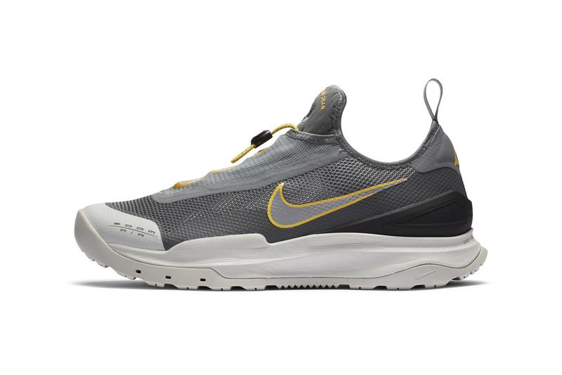 nike acg air zoom ao hiking shoe black purple red tan official release date info photos price store list buying guide