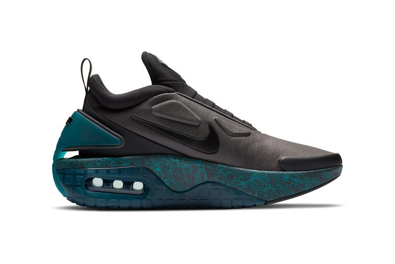 nike sportswear adapt auto max coal black dazzling emerald green speed yellow CW7271 001 official release date info photos price store list