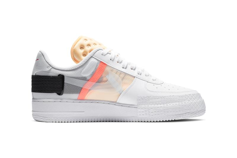 nike n 354 af1 type air force 1 white black melon tint habanero red CZ7107 100 official release date info photos price store list buying guide