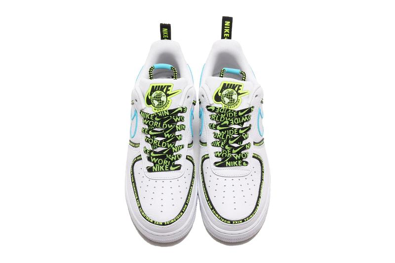 Nike Air Force 1 WHITE/BARELY VOLT-VOLT-BLACK lv8 and WHITE/WHITE-BLUE FURY-BLACK prm release info drop date price details ck7213-100 ck6924-101 worldwide pack