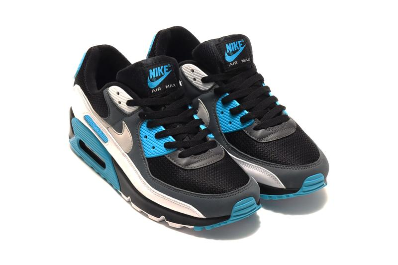 Nike Air Max 90 OG Laser Blue menswear streetwear spring summer 2020 collection sneakers kicks trainers runners footwear shoes reverse CT0693 001