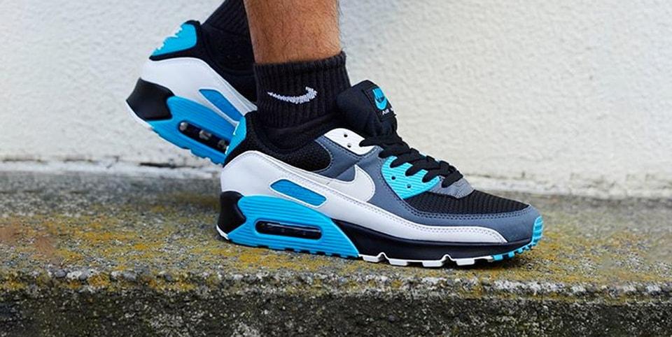 Nike Air Max 90 Laser Blue Hypebeast